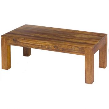 Cube Coffee Table 110x60 Solid Sheesham Wood