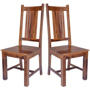 Cube Jaipur Dining Chair Solid Seat x1 Solid Sheesham Wood