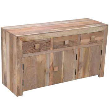 Light Dakota 3 Door 3 Drawer Sideboard