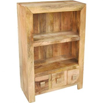 Light Dakota Small Bookcase