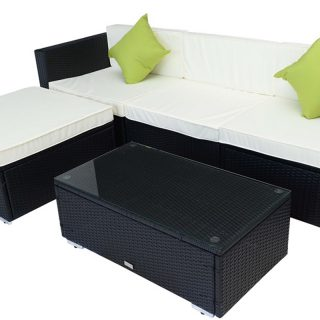 Rattan Lounger & Coffee Table Sets